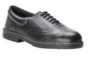 Chaussure de travail basse en cuir - Matière du dessus : Cuir pleine fleur - Norme S1P