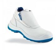 Chaussure haute microfibre blanche - Pointures disponibles de 35 à 47