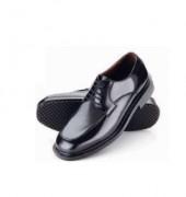 Chaussure travail semelle matelassée - Cuir - Acier - Pointure 38 au 47