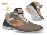 Chaussures de sécurité à semelle amovible - Matière : Cuir croûte velours souple - Pointure : 39 à 47