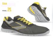 Chaussures de sécurité à semelles anatomiques - Matière : Cuir croûte velours souple - Pointure : 39 à 47