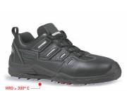 Chaussures de sécurité antidérapantes - Matière : Cuir croûte velours souple - Pointure : 39 à 47