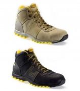 Chaussures de sécurité avec semelle intercalaire - Matière : Cuir nubuck - Coloris : Noir ou Roche lunaire