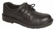 Chaussures de sécurité basses cuir grainé