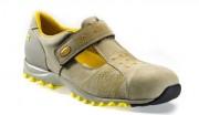 Chaussures de sécurité basses en cuir nubuck - Matière : Cuir nubuck - Coloris : Roche lunaire