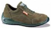 Chaussures de sécurité basses en cuir velours - Pointure : De 35 à 48