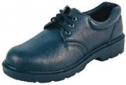 Chaussures de sécurité basses noires légères - Matière : Cuir - Coloris : Noir