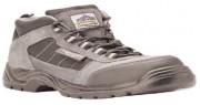 Chaussures de sécurité basses type basket - Matière : Cuir suédine - Pointure : 37 à 47