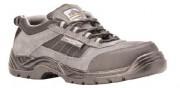 Chaussures de sécurité basses type tennis - Matière : Cuir suédine - Pointure : 37 à 47