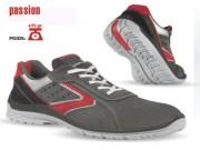 Chaussures de sécurité en cuir croûte velours souple - Matière : Cuir croûte velours souple - Pointure : 39 à 47
