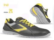 Chaussures de sécurité flexibles - Matière : Cuir croûte velours souple. - Pointure : 39 à 47