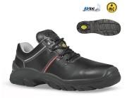 Chaussures de sécurité haut de gamme - Matière : Cuir croûte velours souple - Pointure : 39 à 47