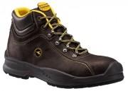 Chaussures de sécurité hautes en cuir nubuck DIADORA - Matière : Cuir nubuck - Coloris : Noir