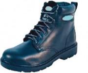 Chaussures de sécurité montantes noires - Coloris : Noir - Pointure : 39 à 47