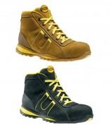 Chaussures de sécurité pour chantiers - Matière : Cuir nubuck - Coloris : Noir ou Marron clair