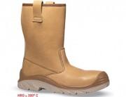Chaussures de sécurité respirantes - Matière : Cuir croûte velours souple - Pointure : 39 à 47