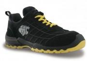 Chaussures de sécurité souples - Matière : Cuir croûte velours souple - Pointure : 39 à 47