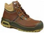 Chaussures de travail montantes en cuir