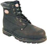 Chaussures montantes de sécurité à lacets - Coloris : Noir - Pointure : 39 à 47