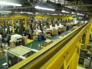 Chemin de roulement industriel