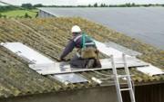 Chemin de toit aluminium - Masse à vide : 47,5 kg (le kit)