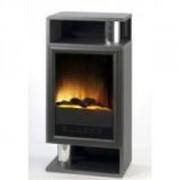 Cheminée décorative à effet de feu de bois 2000 Watts - LISZT - Dim(PxLxH): 30x51.3x104.7