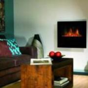 Cheminée décorative à effet de feu de bois 2000 Watts - MODELE OBSIDIAN - Dim:(PxLxH) 14.5x70x60.5