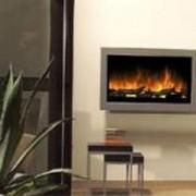 Cheminee décorative avec télécommande - MODELE SP5 - Dim en cm (PxLxH) : 18,5x115x60
