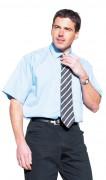 Chemise classique demi-manche pour homme - Tailles : S - M - L - XL - 2XL - 3XL