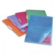 Chemise de présentation à clip Swing Clip coloris assortis translucides, capacité 30 feuilles - Durable