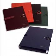 Chemise extensible Extensor®, grand rabat en pied, balacolor noir finition imitation cuir - Claircell