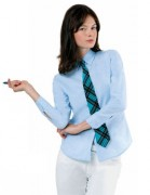 Chemise femme manches longues personnalisable - Chemise femme  manches longues