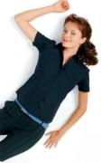 Chemise personnalisée manches courtes femme