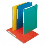 Chemise simple à élastique 42091, en carte lustrée 5/10e coloris assortis - Elba
