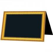 Chevalet ardoise de table pour tous commerces - Vendu par paquet de 10 - Disponible en 2 dimensions