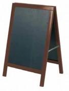 Chevalet ardoise menu double face - Dimension (Lxh) : 495 x 685 mm
