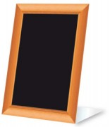 Chevalet ardoise pour table restaurant - Paquet de 3 - Neutre - 15 x 22 cm
