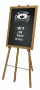 Chevalet bois pour ardoise - Hauteur : 165 cm