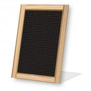 Chevalet comptoir pour menu - Dimensions : 15 x 22 cm