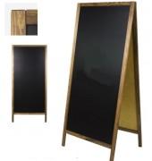 Chevalet de trottoir ardoise double face - Dimensions (L x h) : 72 x 160 cm