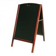 Chevalet de trottoir restaurant - Dimensions (cm) : 30 x 20 x15