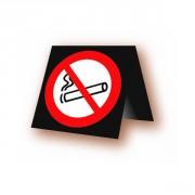 Chevalet interdiction de fumer - En PVC