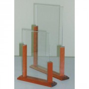 Chevalet plexiglas de table
