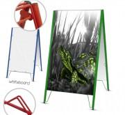 Chevalet présentoir tableau - Dimension (Lxh) : 600 x 900 mm
