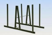 Chevalet rails stockage