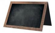 Chevalet table de restaurant - Largeur : 7 cm - Hauteur : 5 cm