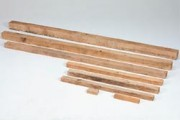 Chevron bois 535 x 50 mm - Chevrons peuplier, 84512