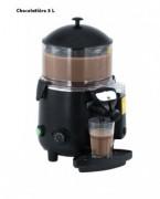 Chocolatière professionnelle - Capacité : 5 ou 10 L - Dim : L.410 x P.280 x H.460 mm - Puissance : 1006 W
