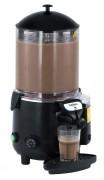 Chocolatière professionnelle noire - Socle en ABS et récipient en polycarbonate