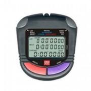 Chronomètre 60 mémoires - Mémorisation de 60 temps intermédiaires et retour